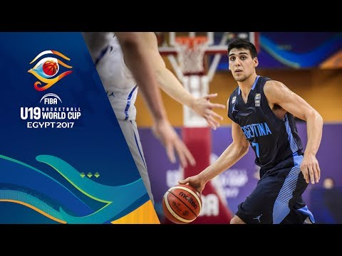 Korea v Argentina - Full Game - FIBA U19 Basketball World Cup 2017