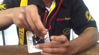 Wiring Saklar Tunggal + Stop Contact