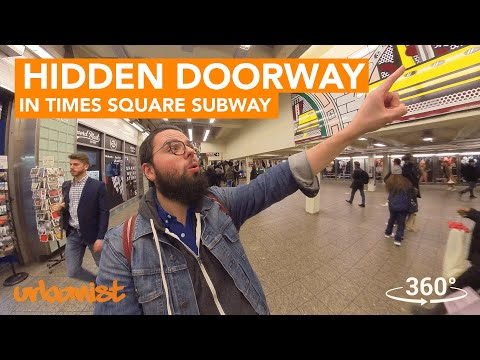 Hidden Doorway In New York City