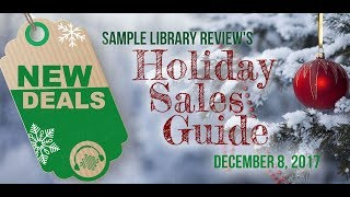 Music Software Holiday Sales Guide Highlights for Dec 8, 2017