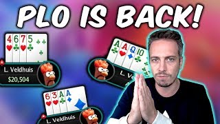 PLO is back! DEEP RUN!