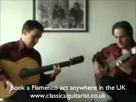 Fantastic Flamenco Guitar Duo for Events in UK