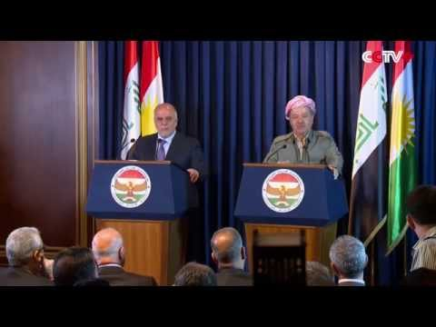 Iraqi Gov't to Cooperate with Kurdish Forces to Liberate Nineveh Province from IS: PM