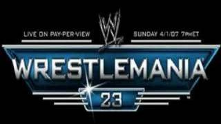 "WrestleMania 23 ""Ladies & Gentlemen"""