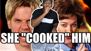[ REACTION ] Gordon Ramsay vs Julia Child. Epic Rap Battles of History