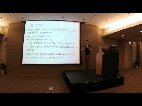 Inaugural Fillmore Lecture by Dan Jurafsky @ 2015 Linguistics Summer Institute