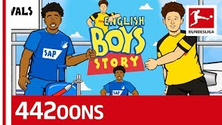 Reiss Nelson & Jadon Sancho - The English Boys Story - Powered By 442oons
