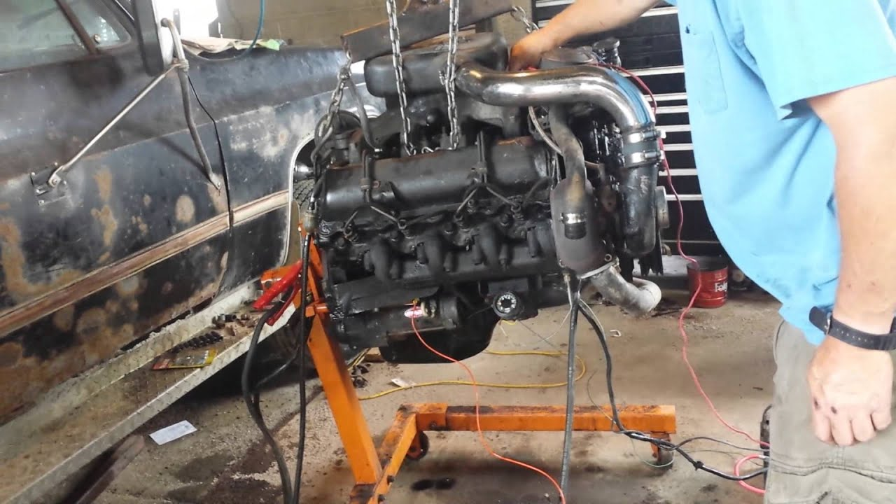 6 5l Turbo Diesel Running