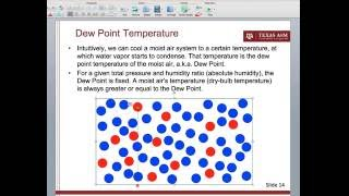 Dew Point Temperature and Relations to Other Moist Air Properties