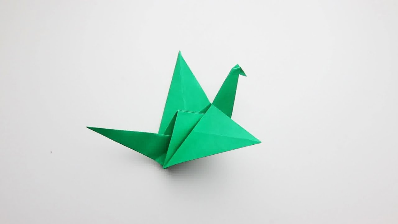 Origami # 6 Kanat Çırpan Kuş Nasıl Yapılır ? (How To Make ... - photo#7