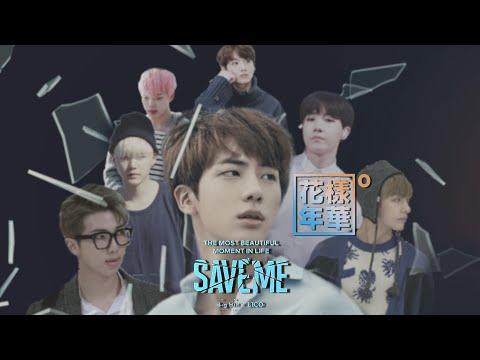 BTS (방탄소년단) SAVE ME Webtoon Drama Episode 1