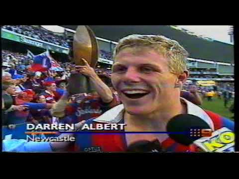 ARL - Newcastle Knights 1997 Post Grand Final Celebrations & Interviews