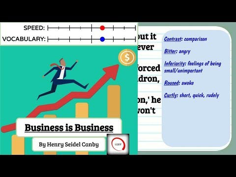 Learn English Through Story - Business Is Business, English Audio Book With Subtitles