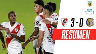 VOLVIÓ AL MONUMENTAL GOLEANDO | River Plate 3-0 Rosario Central | RESUMEN