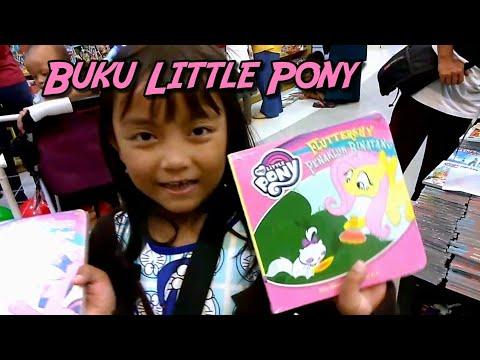 Pixel ke Toko Buku Beli Buku Cerita Little Pony | Melatih Anak TK Belajar Membaca