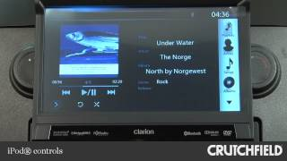 Clarion NZ503 Car Navigation Receiver Display and Controls Demo | Crutchfield Video
