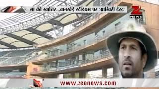 Wankhede stadium to host Sachin