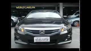 2012 Honda Accord Coupe Best Buy - WEBUYCARS.PH