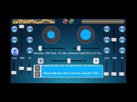 Luồng Virtual Dj Music Mixer của tôi