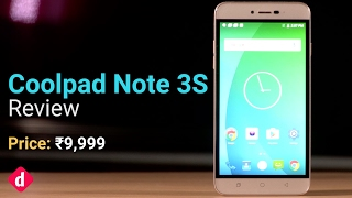 Coolpad Note 3S Review Digit in