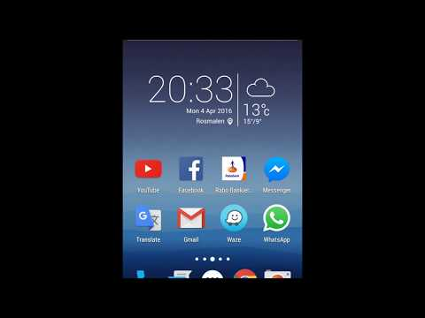 Huawei Honor 7 Clock/weather Widget On Nova Launcher