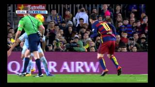 FC Barcelone vs Celta Vigo 14/02/2016 HD FR