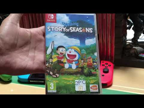 Doraemon Story Of Seasons (EUR/ English) for Nintendo Switch Unboxing and Startup!