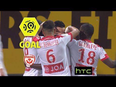 Goal Modou DIAGNE (59′) / AS Nancy Lorraine – AS Saint-Etienne (3-1)/ 2016-17