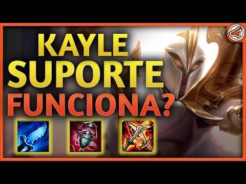 NOVA KAYLE SUPORTE! FUNCIONA? ▪ Testando Builds #9 ▪ League Of Legends thumbnail