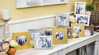 DIY Heart Photo Frames - Home & Family