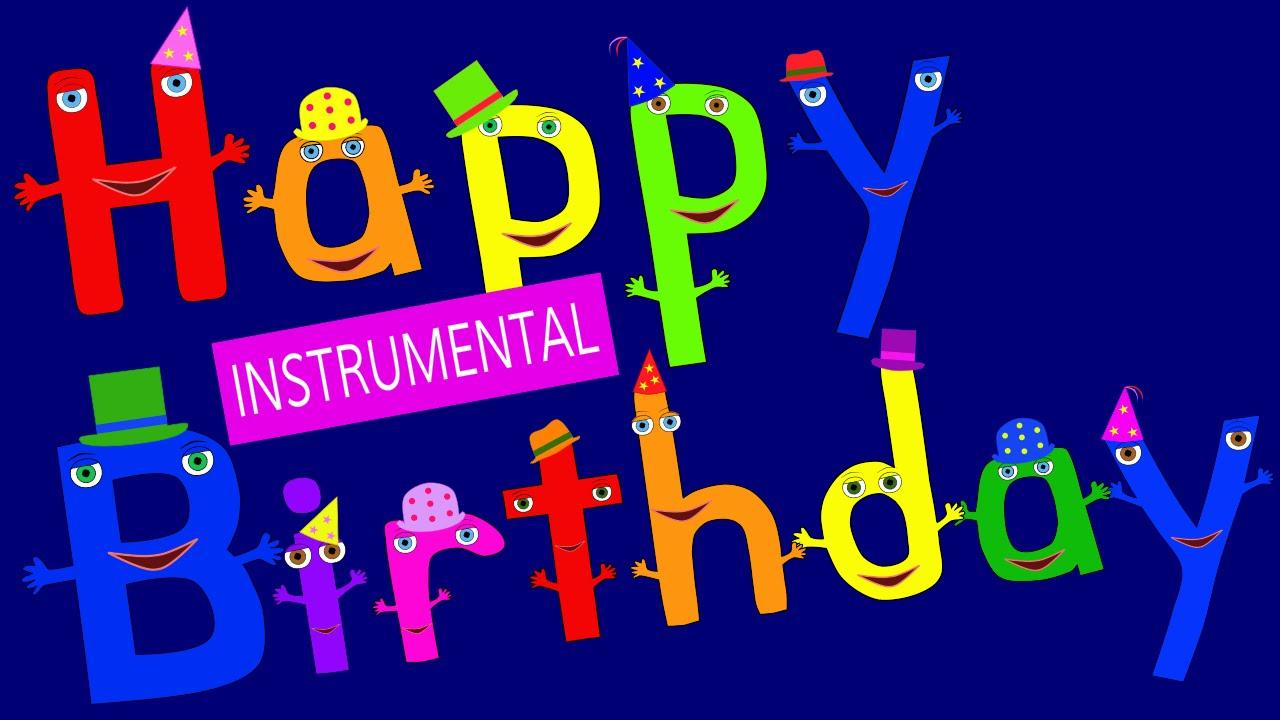 Happy Birthday To You Instrumental Youtube