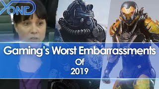 Gaming's Worst Embarrassments Of 2019