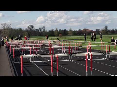 Mikenna Peters - West Platte High School Girls 100m Hurdles @ St. Joseph Christian
