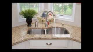 Corner Kitchen Sink Design Decor Ideas