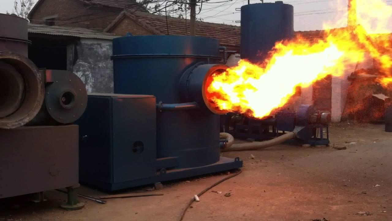 Kw sawdust burner for ton gas boiler industrial
