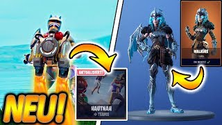 NEW MODE HAUTNAH + JETPACK & WALKÜRE SKIN!! 🔥😱 | FROSTWING GLEITER! | Fortnite Battle Royale