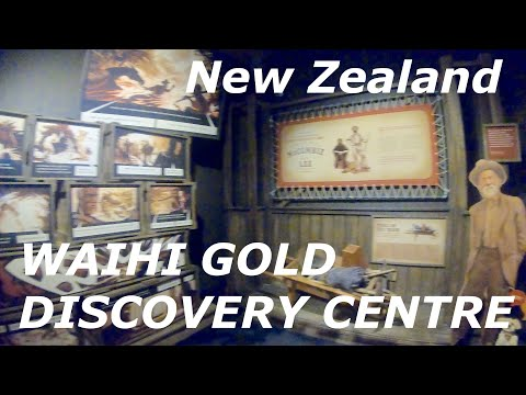 WAIHI GOLD DISCOVERY CENTRE - Bay Of Plenty, New Zealand
