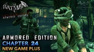 Batman: Arkham City Armored Edition - Wii U Walkthrough - Chapter 24 - The Only Way In