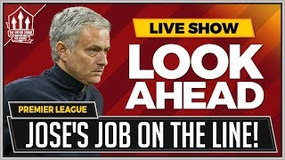 Burnley vs Man United   Mourinho's Last Game In Charge?