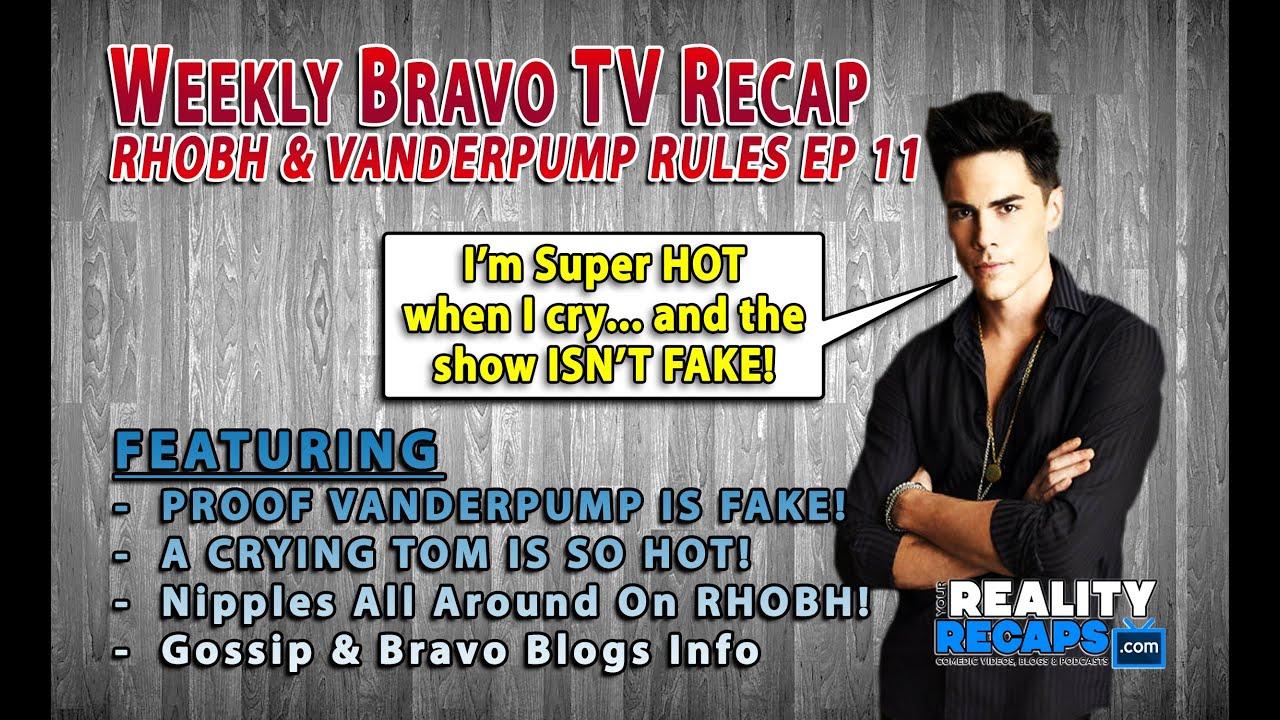 Bravo Weekly Comedic Recap EP 11: RHOBH & FAKE Vanderpump ...