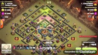 Clash of Clans Clanwar Rh10 vs. Rh10 2 Stars #2