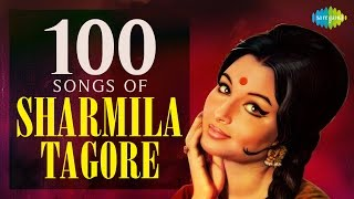 100 Songs of Sharmila Tagore   शर्मीला टैगोर के 100 गाने   HD Songs   One Stop Jukebox