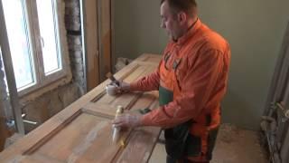 видео выполним ремонт дверей