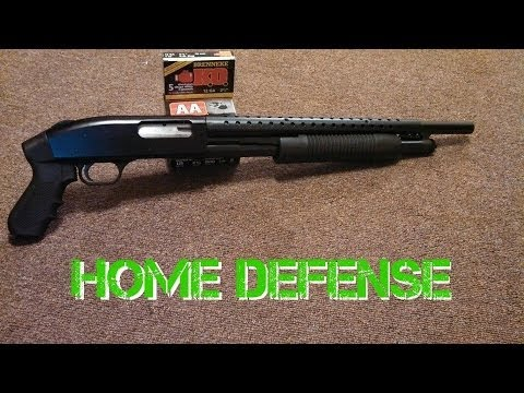 mossberg 500 12ga shotgun review & assemble