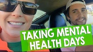 TAKING MENTAL HEALTH DAYS // Grace Helbig