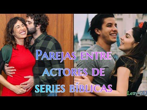 Parejas Entre Los Actores De Las Series Bíblicas De Record Tv