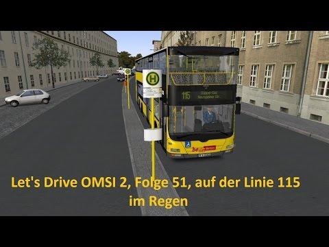 Let's Drive Omsi 2, Folge 51, Auf der Linie 115 im Regen
