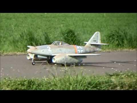 Freewing Messerschmitt Me-262 jet
