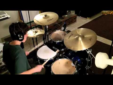 how to play get back on drums