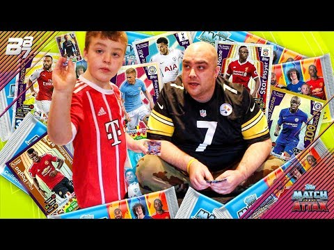 IRL PACK OPENING WITH MY SON! MATCH ATTAX